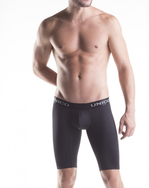BOXER MICROFIBER ATHLETIC BLACK