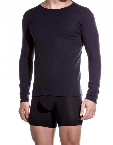 LONG SLEEVES T-SHIRT BLACK DERBY